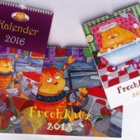 Frechkatz Kalender
